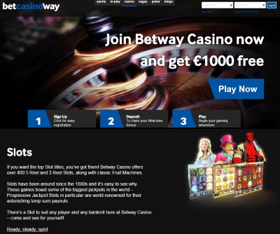 Play at Betway Slots
