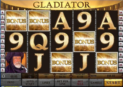 free slot game gladiator